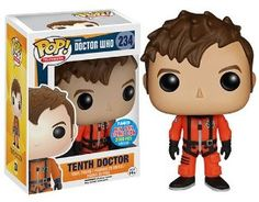 Amazon.com: Funko Pop! Doctor Who #234 Tenth Doctor Space Suit NYCC Exclusive New York Comic Con: Toys & Games