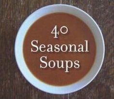 Great recipes for your favorite soups, and to support a shelter, what could be wrong with that! http://www.womeninventorznetwork.com/shop/view/-Seasonal-Soups-Cookbook-Supporting-Sacred-Heart-Shelter/
