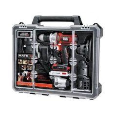 Tool Combo Kit Matrix 6 Quick Connect 20V Motor Lithium-Ion Battery Cordless New #BlackDecker