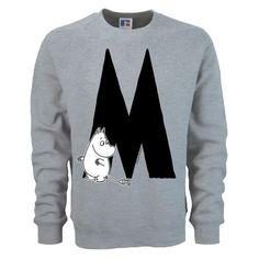 Moomin Alphabet sweatshirt  - M as in Moomintroll