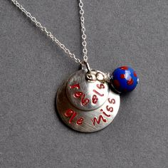 OLE MISS  University of Mississippi Rebels by aprilclee123 on Etsy, $37.00