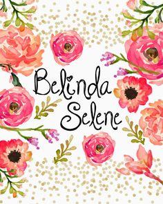 Free Gorgeous imprimable couvre pour Erin Condren Planner //Belinda Selene