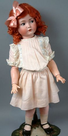 One of our favorite dolls, the Mein Leibling, or 'My