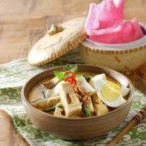 Resep Ketupat Sayur Padang Spesial