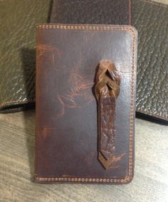 Bison Leather Passport / Journal Cover by GerberSafeCompany