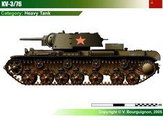 KV-3/76 Heavy Tank