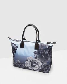 1917658f4 Blue Bloom print tote bag - Pale Blue
