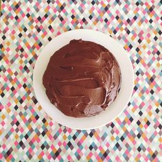 Nigella Lawson's Old Fashioned Chocolate Cake {so good!}