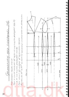 SYSTEM DTTA: PAGE 38 | Tailoring - patternmaking, cutting and sewing | THE DESIGN AND TECHNICAL TAILORING ACADEMY | TILSKÆRERAKADEMIET I KØBENHAVN (KBH)