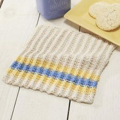 French Country Dishcloth Free Download
