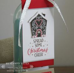 Candy canes, Canes and Wine bottle gift on Pinterest