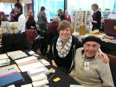 Hugh Barclay, Thee Hellbox Press, Kingston, Ont. Photo by Don McLeod.