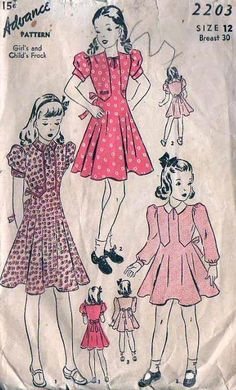 Image detail for -Children 1940 S Clothing by Haller