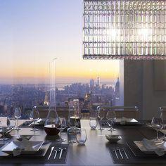 뉴욕의 432 Park Avenue : 1010억 원 짜리 펜트하우스의 내부(사진, 동영상)