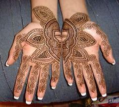 #tatouage #henne aux mains