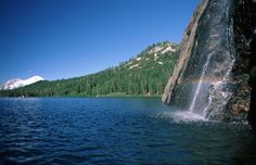 Castle Craggs in Dunsmuir Ca near Redding. Plan to stay a few days,this is a Ca State Park, it is HUGE and there is lots of hiking trails. Its a trip in itself, not a stop by on the way to. But within 30-60 min you have Shasta Lake, Lava Beds, Caverns and mossbrae falls.