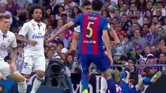 Lionel Messi  Horror INJURY! Real Madrid vs Barcelona 1-1 La Liga 2017