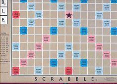 scrabble board layout printable - Bing Images