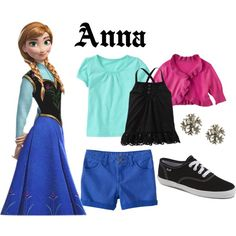 Anna Inspired Casual by pearlsandcupcakes on Polyvore featuring polyvore, fashion, style, Nina B, Old Navy and Keds