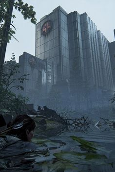 Last Of Us, Minecraft City, Post Apocalypse, Loneliness, Wyoming, Playstation, Videogames, Louvre, Survival
