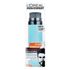 L'Oreal Hydra Energetic Skin and Stubble Moisturising Gel by L'Oreal Paris -- See this great product. (This is an affiliate link and I receive a commission for the sales) Freckle Remover, Beard Hair Growth, Soften Hair, Cedarwood Essential Oil, Vitamins For Skin, Shave Gel, After Shave Balm, Face Lotion