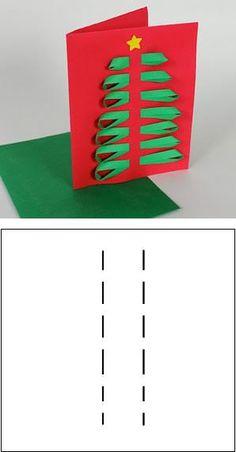 DIY (Hazlo tu misma): tarjetas de Navidad