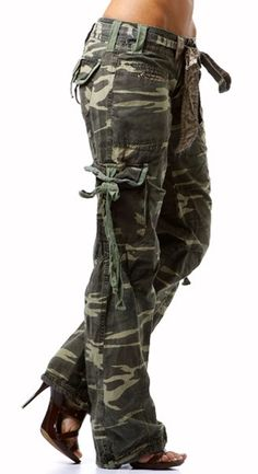 2013: Return of Camo Cargo Pants to the Fashion World