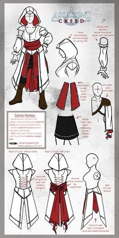 Assassin's Creed Cosplay [ Update ] by Arofexdracona on deviantART Assasin Creed…