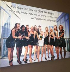 Bachelorette Party Photo and Quote