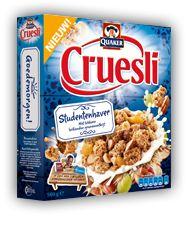 6-6-'13 Quaker Cruesli Studentenhave, new: 5/10 taste: 6/10 pack: 5/10 overall score 5,4/10 | product info online redelijk