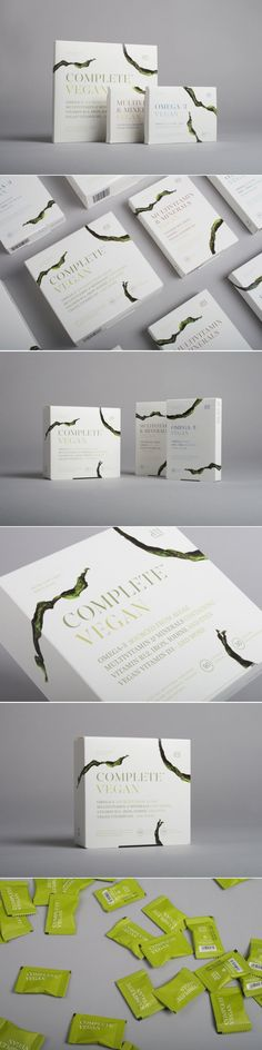 These Supplements Are Made Especially for Vegans and Vegetarians — The Dieline | Packaging & Branding Design & Innovation News