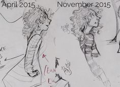 Redraws because it motivates me to draw more idk why | credit: @rohinicupcake