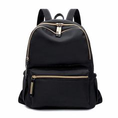 32266423d2bc OTHERCHIC Fashion Women Simple Backpacks Black Oxford Backpack For Teenage  Girls Sac A Dos Femme Female Knapsack 8N01-13
