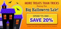 Spooktacular Halloween Sale at Vitalmax