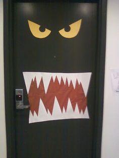 Ludlow Live Wire: Halloween Door Decoration Contest