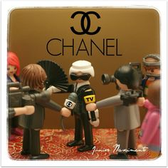 Karl Lagerfeld @playmobil @KarlLagerfeld @mundoestranho @PlaymoRubio @canalplaymotv @CHANEL Jr Art, Alesso, Chanel, Never Grow Up, Studio Ghibli, Karl Lagerfeld, Growing Up, Science, Doll