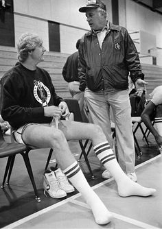 Larry Bird & Red Auerbach