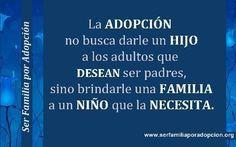 Ser Familia por Adopción