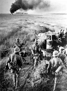 First Days of Operation Barbarossa. Ukraine, 1941.