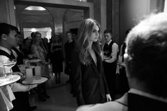 The Night: from the launch of the Mulberry Cara Delevingne Collection.