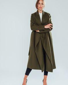 Bathrobe Coat – khaki