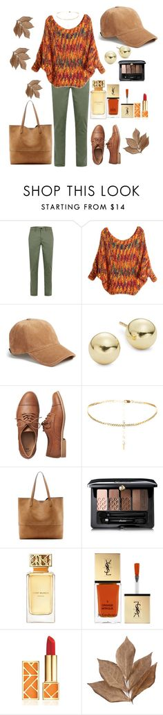 """""""Cozy sweater!"""" by stelladallas6369 ❤ liked on Polyvore featuring rag & bone, Lord & Taylor, Gap, Sole Society, Guerlain, Tory Burch, Yves Saint Laurent and Bliss Studio"""