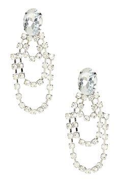 Luxe strass boucles d/'oreilles cristal géométrique Hoop Boucles d/'Oreilles Mariage Bijoux Giftt