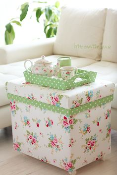 Greengate fabric.. lovely!