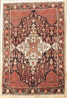 Antique Persian Farahan Area Rug 39932 - Area Rug area rugs