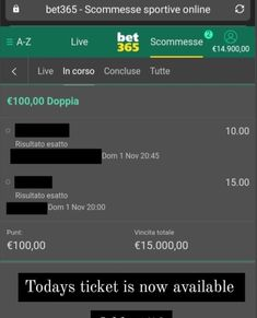 Next fixed 100% Matches are Monday 2nd of November 💥Doubles odds Guaranteed Winner 1OO% 💥 🖲 Odds are likely to vary depending on the bookies and also the time of your bet. 💬 Message me for more Info WhatsApp +1(609)669‑2494 & Telegram @alfreddolan ❌ NO FREE / NO AFTER ‼️ #liga303 #maxbet #taruhan #terpercaya #piala #poker #taruhanbola #sportsbook #bolaterpercaya
