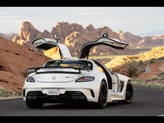 2013 Mercedes-Benz SLS AMG Coupe Black Series