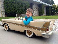 1958 Belvedere *PEDAL CAR.