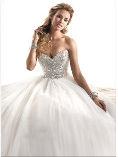 Sweetheart Ball Gown & Swarovski Crystals