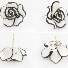 Rose Earrings Looks just like the pictures. NWOT. Jewelry Earrings